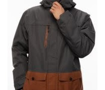 686 - Manteau homme anthem insulated charcoal colorblock