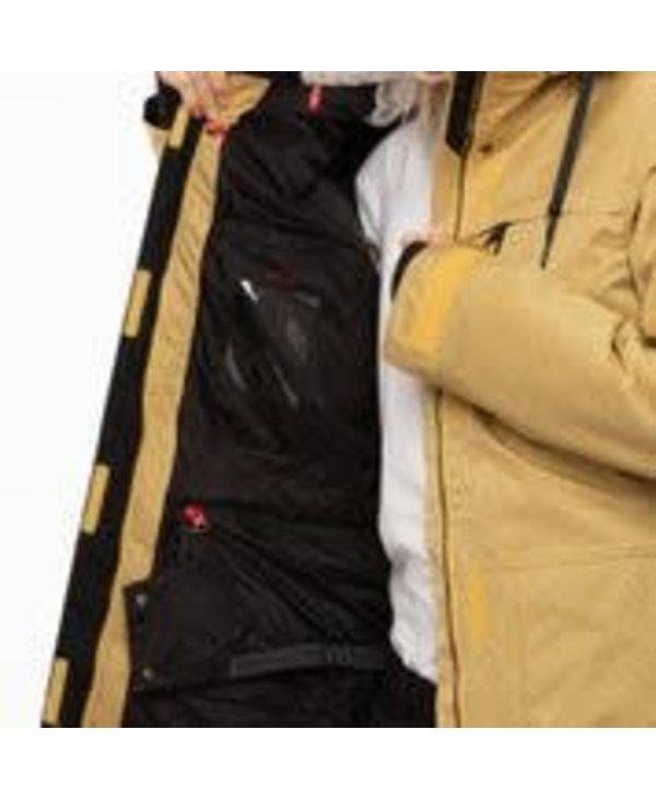 686 - Manteau femme spirit insulated curry stripe