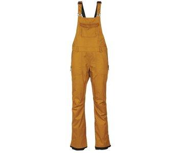 686 - Pantalon femme black magic insulated bib golden brown