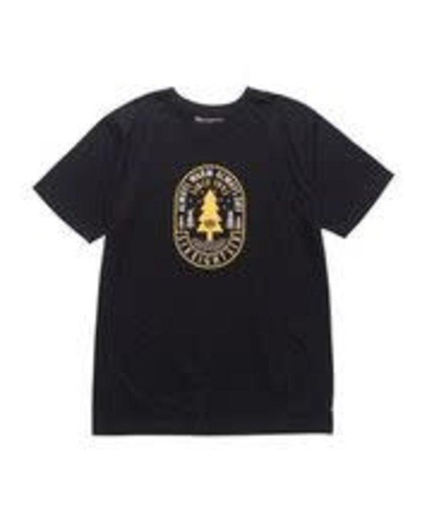686 - T-shirt homme pine  black