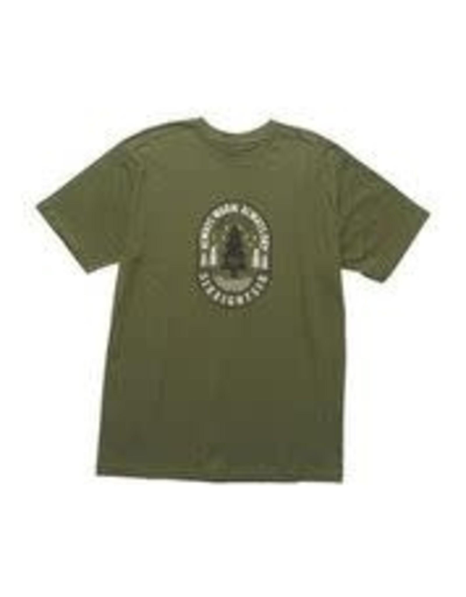 686 686 - T- shirt homme pine surplus green