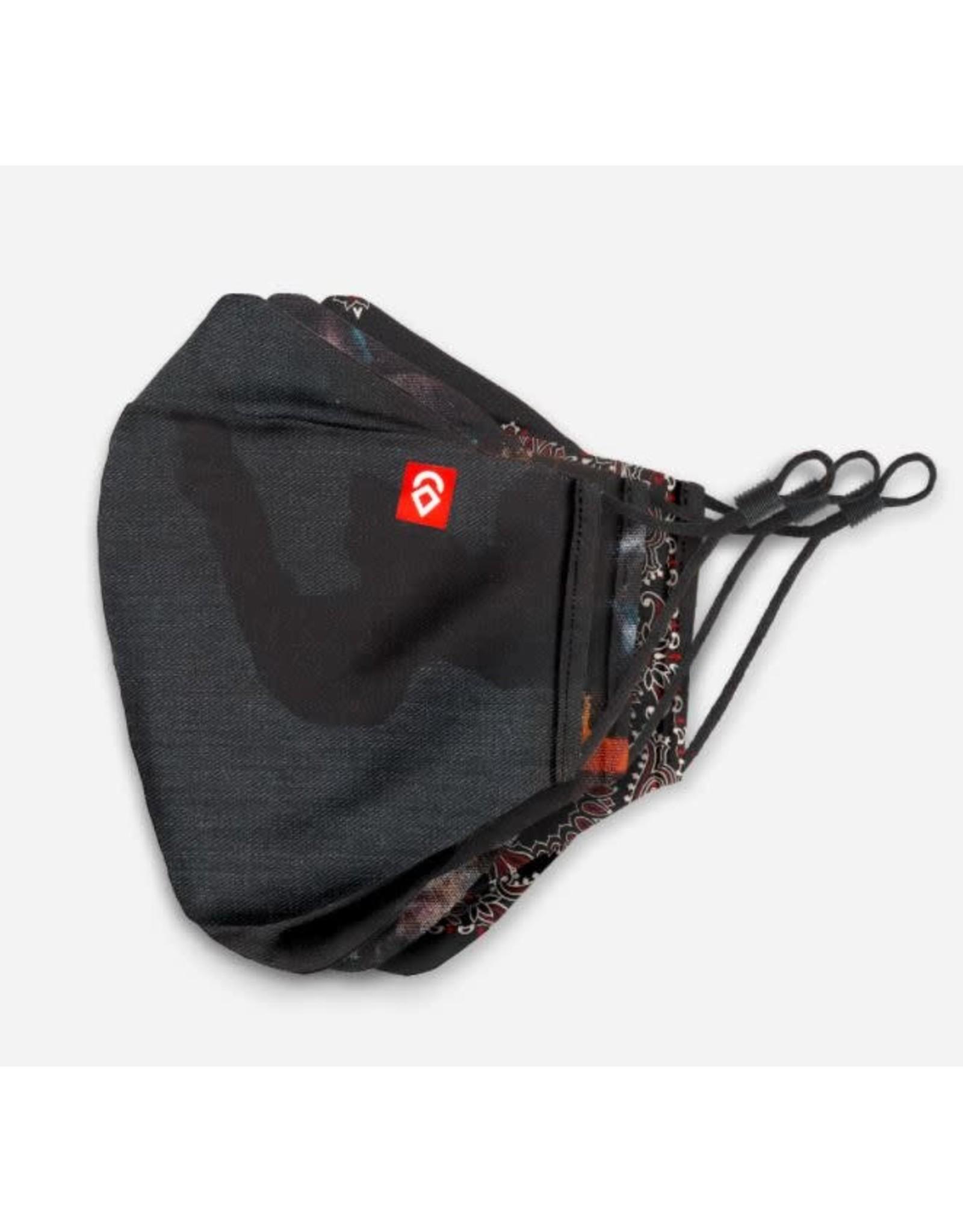 airhole Airhole - Masques advanced shibuya 3 pack stealth camo/studio/black paisley