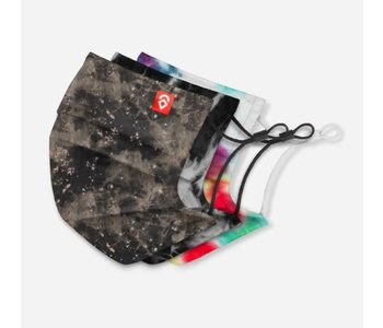 Airhole - Masques basic brooklyn 3 pack speckle/storm/woodstock