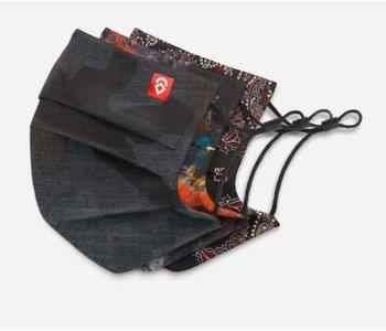 Airhole - Masques basic shibuya stealth camo/studio/black paisley