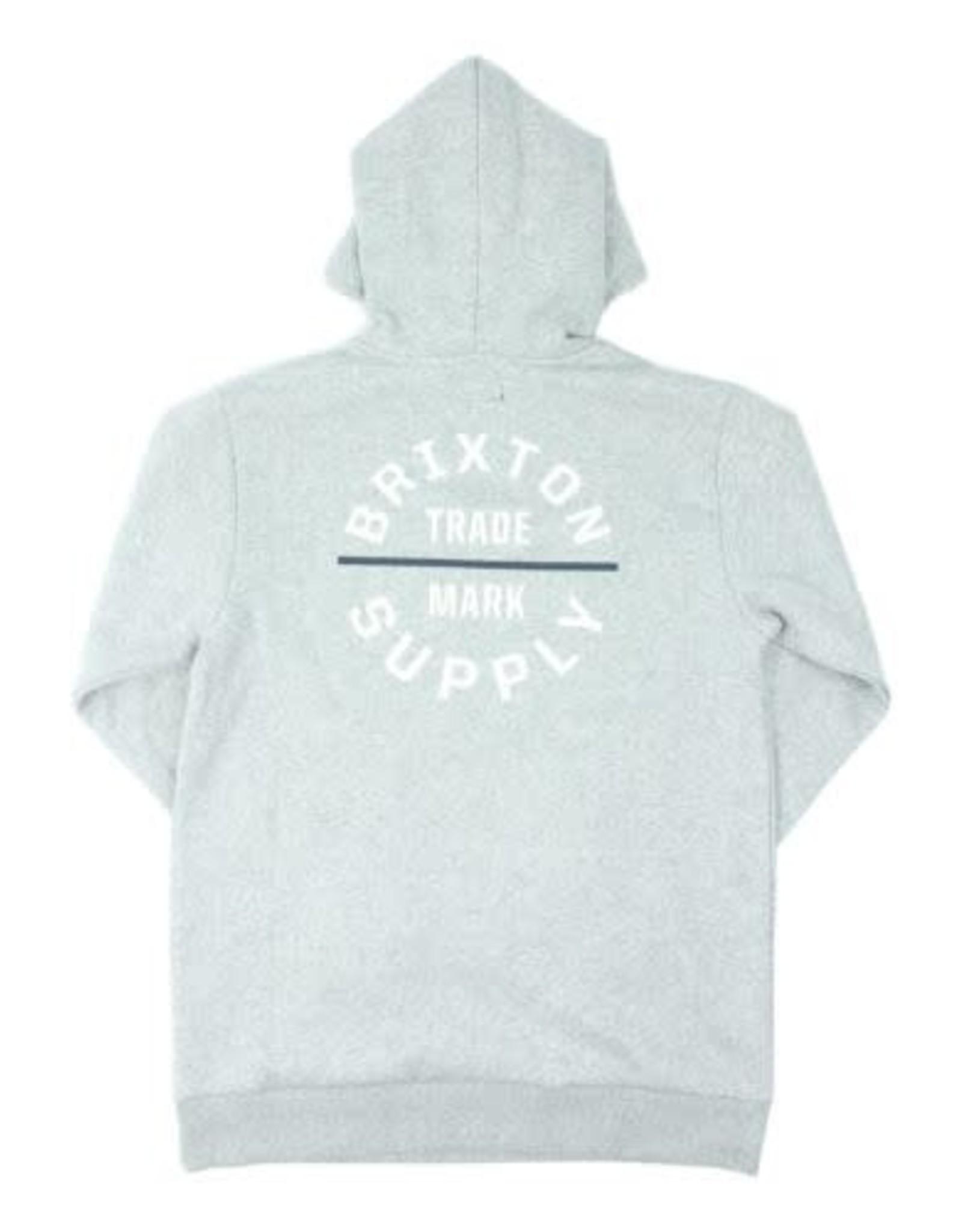 Brixton Brixton - Ouaté homme oath VI heather grey/white/washed navy