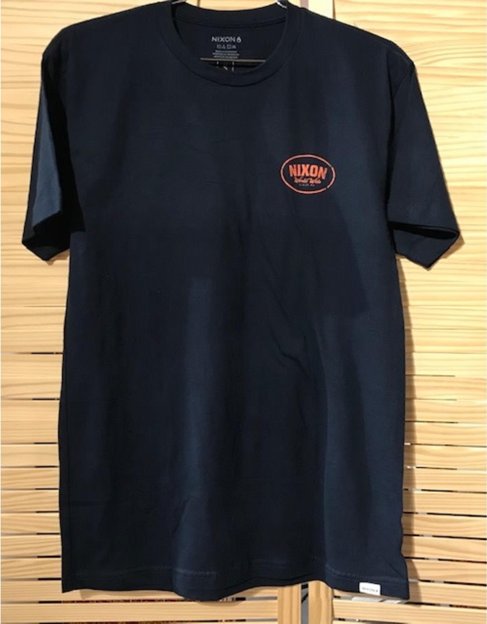 nixon Nixon - T-shirt homme  traction navy