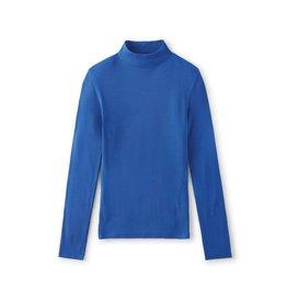 Brixton Brixton - Chandail long femme blitz turtleneck dazzling blue