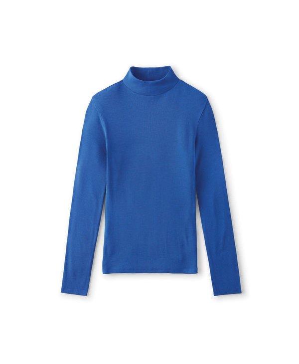 Brixton - Chandail long femme blitz turtleneck dazzling blue