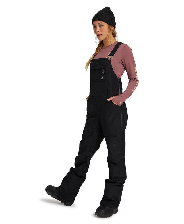 Burton - Pantalon femme gore-tex avalon bib true black
