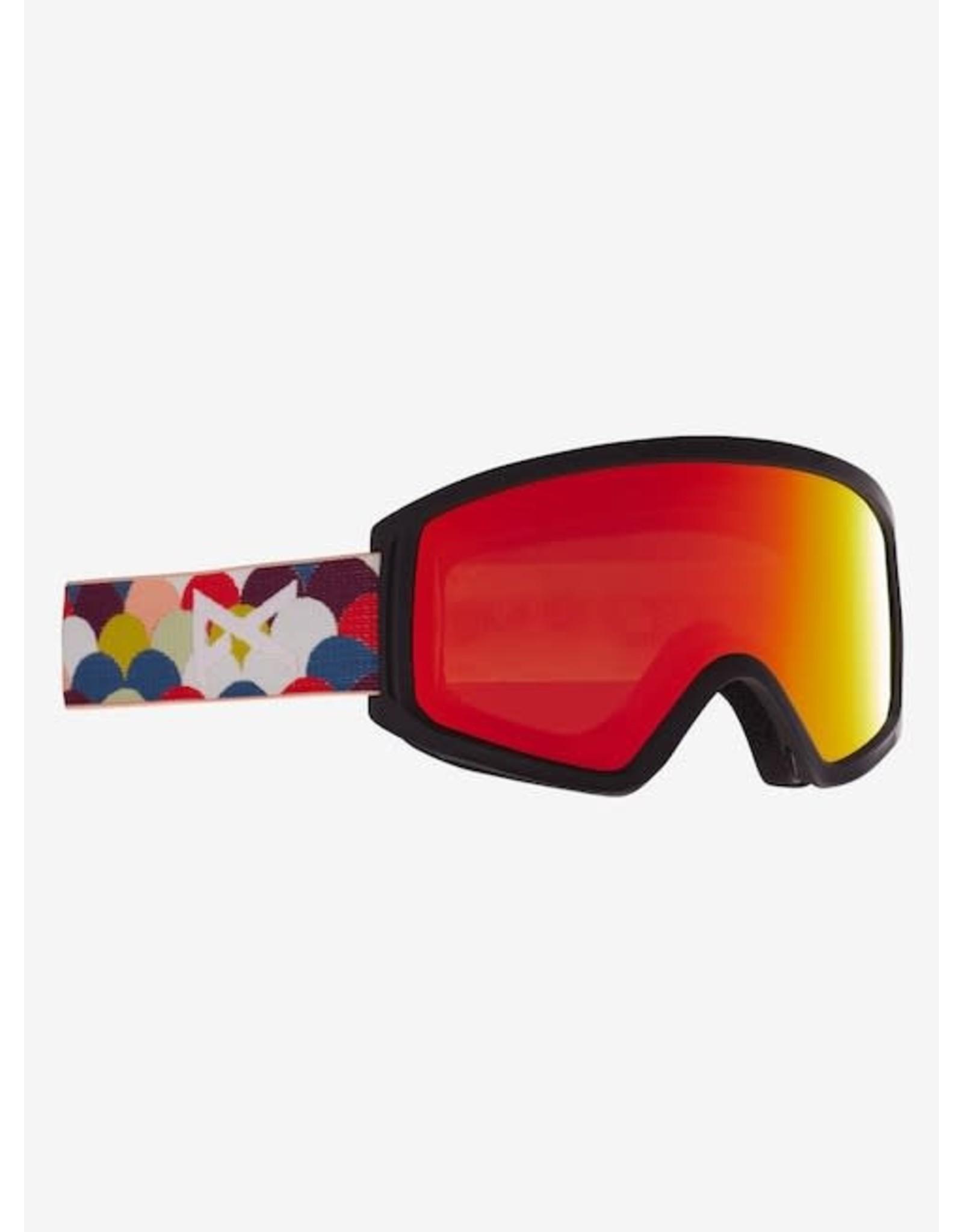 Anon Anon - Lunette snowboard junior tracker 2.0 rainbow black/red solex lens