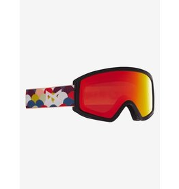 Anon Anon - Lunette snowboard junior tracker 2.0 rainbow black/red solex lens