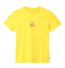 vans Vans - T-shirt femme 66 supply tri bf lemon chrome
