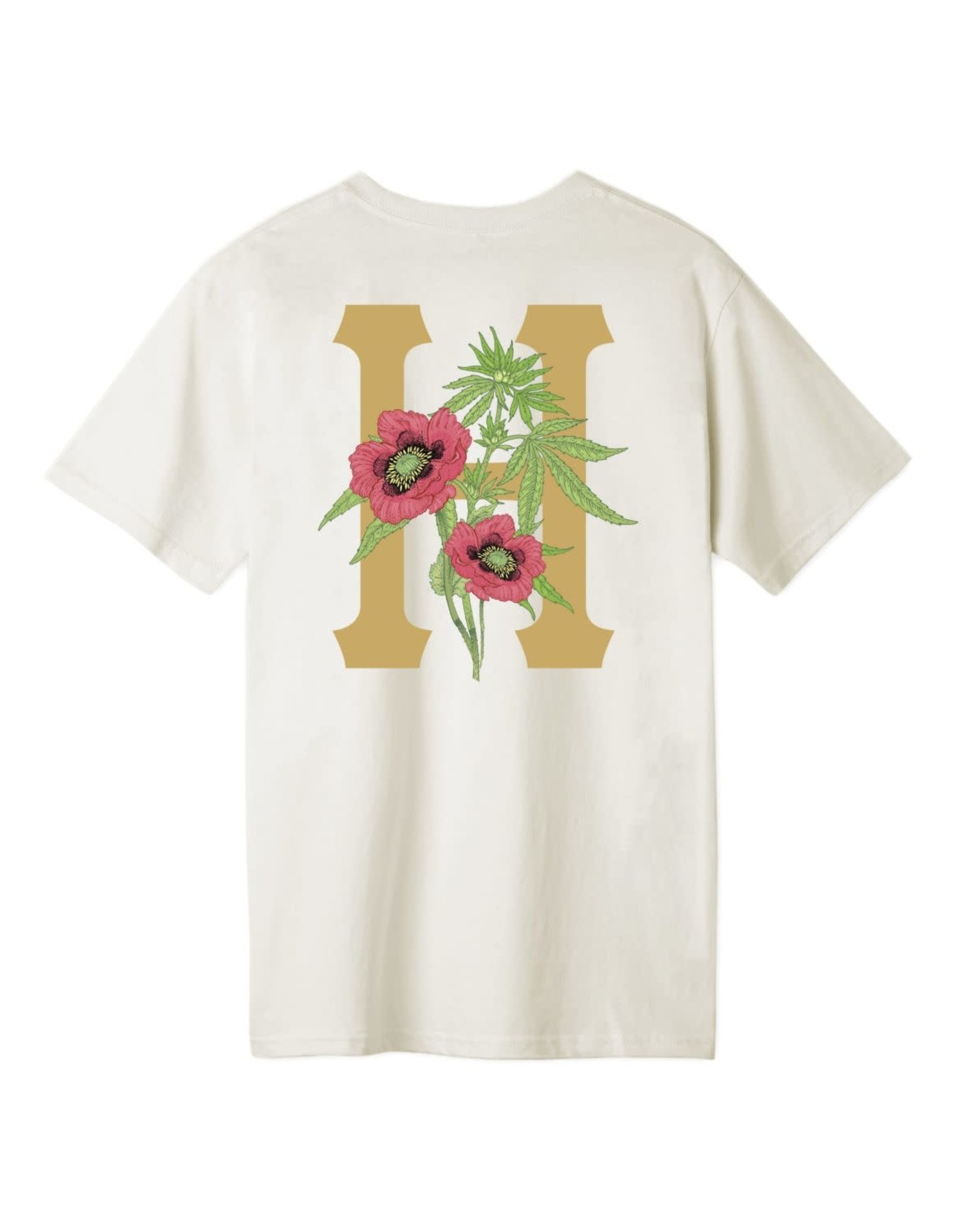 huf Huf - T-shirt homme planta classic h unbleached