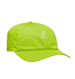 huf Huf - Casquette homme essentials tt logo curved 6 panel bio lime