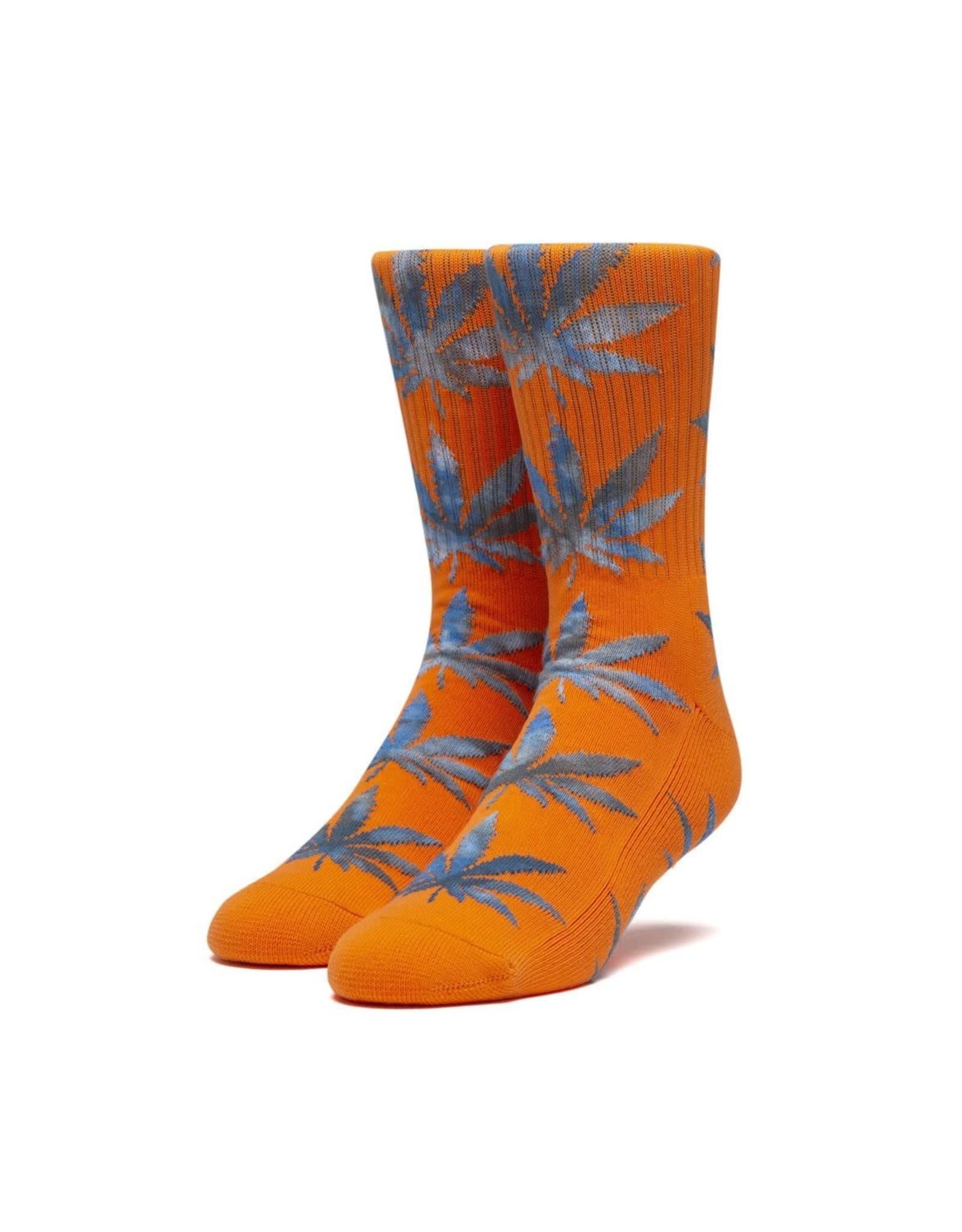 huf Huf - Bas homme tie dye leaves plantlife orange