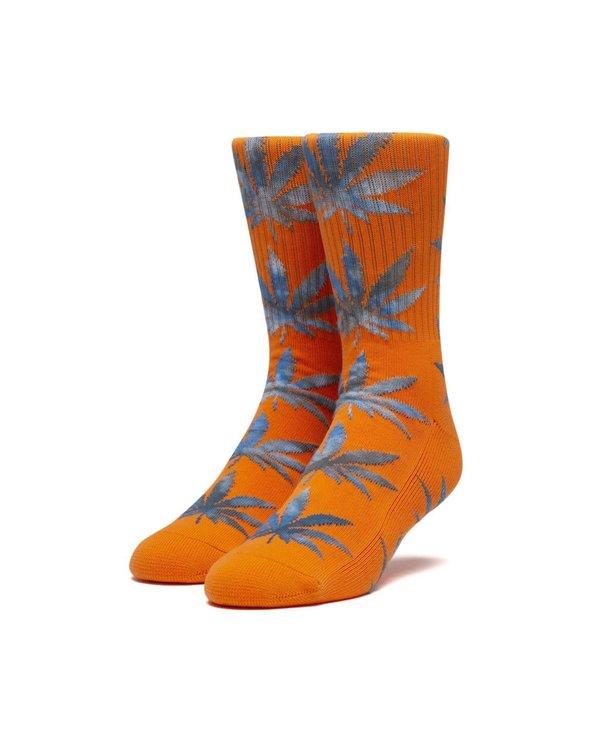 Huf - Bas homme tie dye leaves plantlife orange