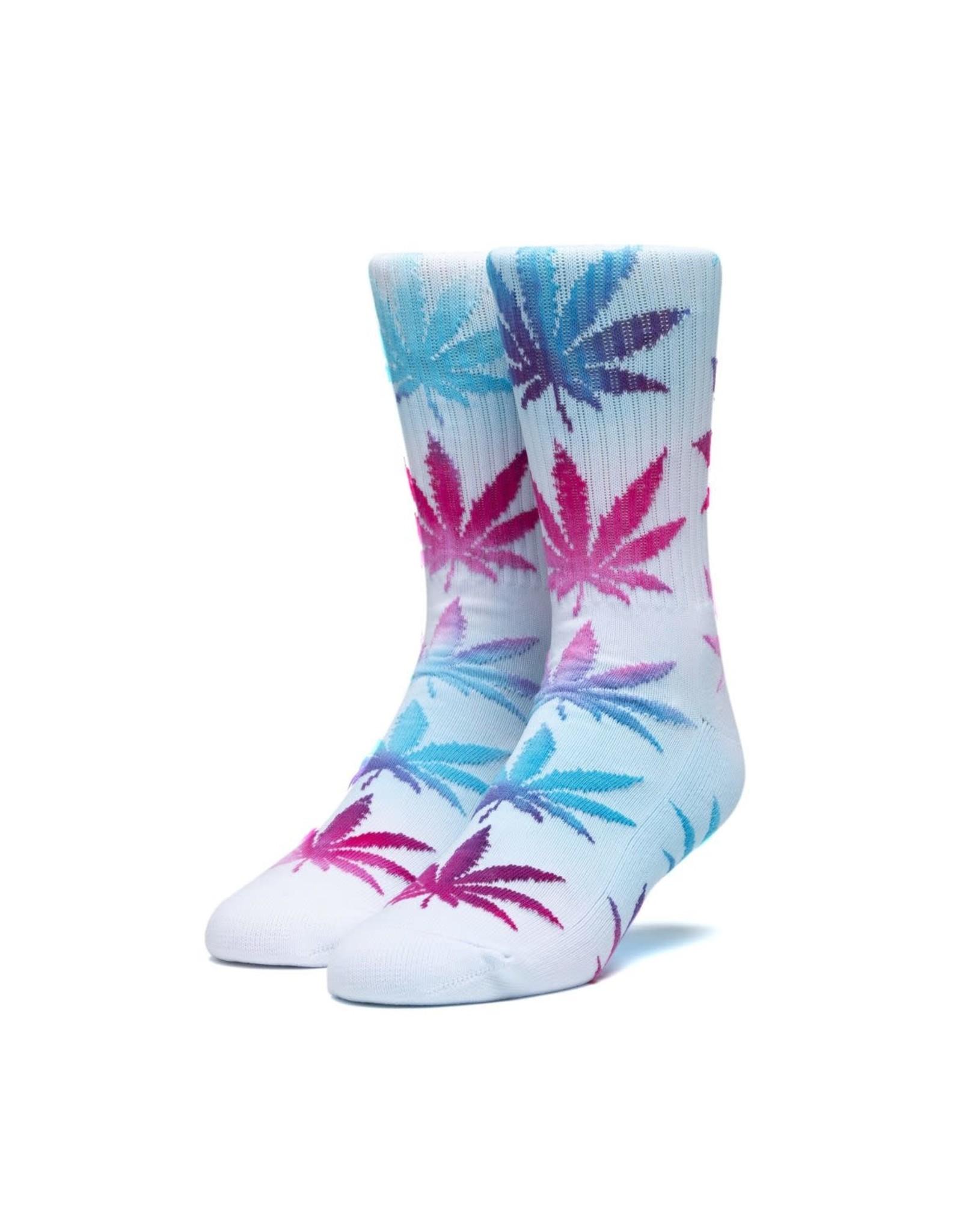 huf Huf - Bas homme tie dye leaves plantlife white
