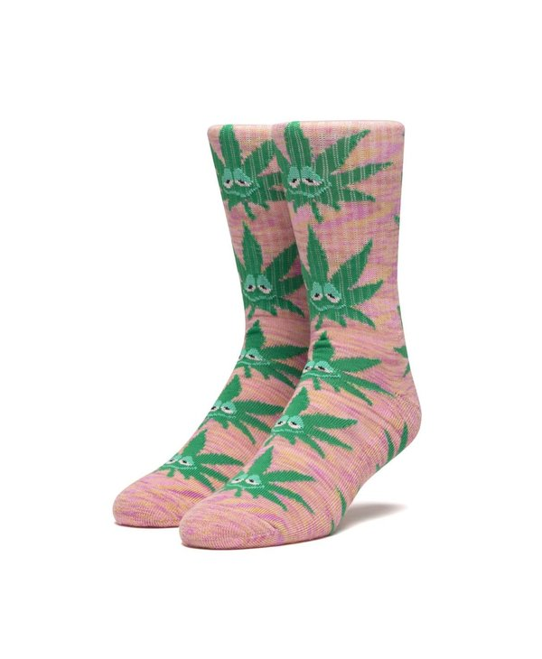 Huf - Bas homme green buddy plastic pink