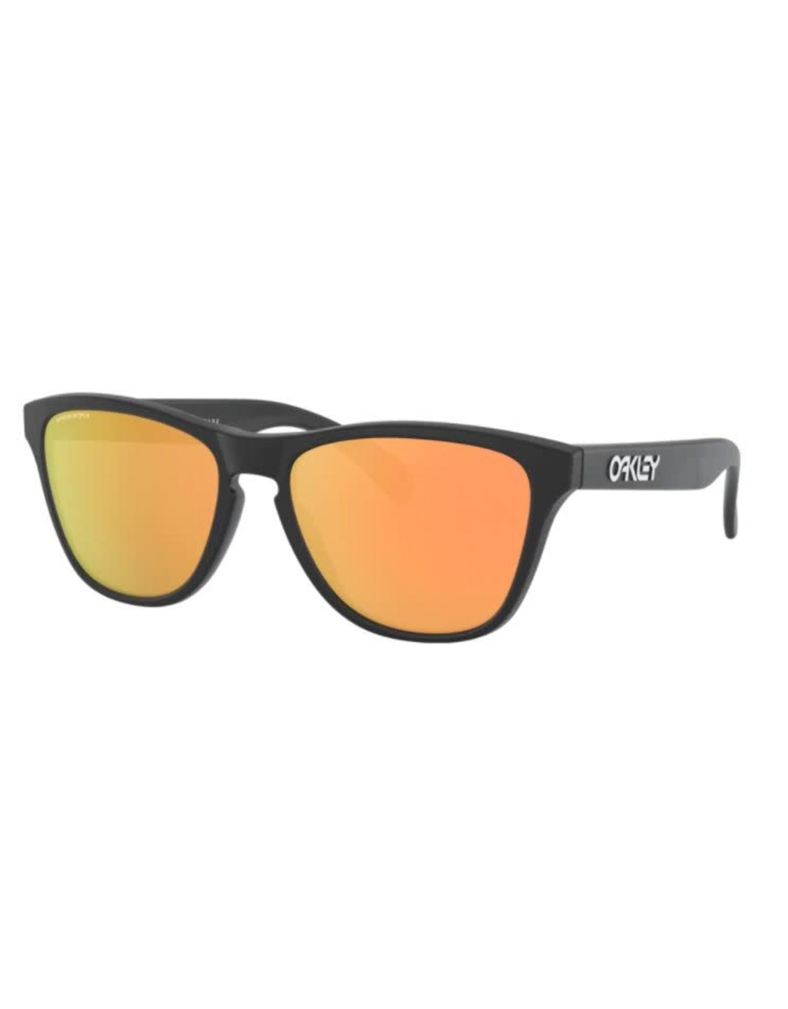 Oakley Oakley - Lunette soleil junior frogskins xs matte black/lens prizm rose gold