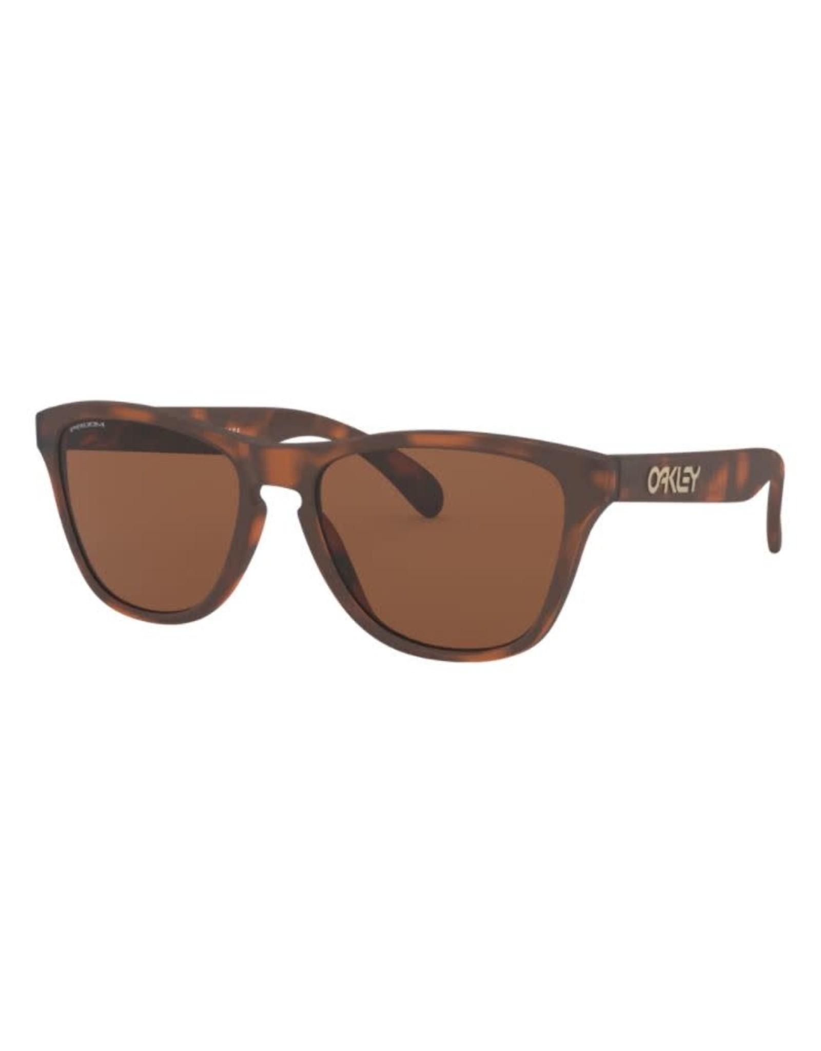 Oakley Oakley - Lunette soleil junior xs matte brown tortoise/lens prizm tungste