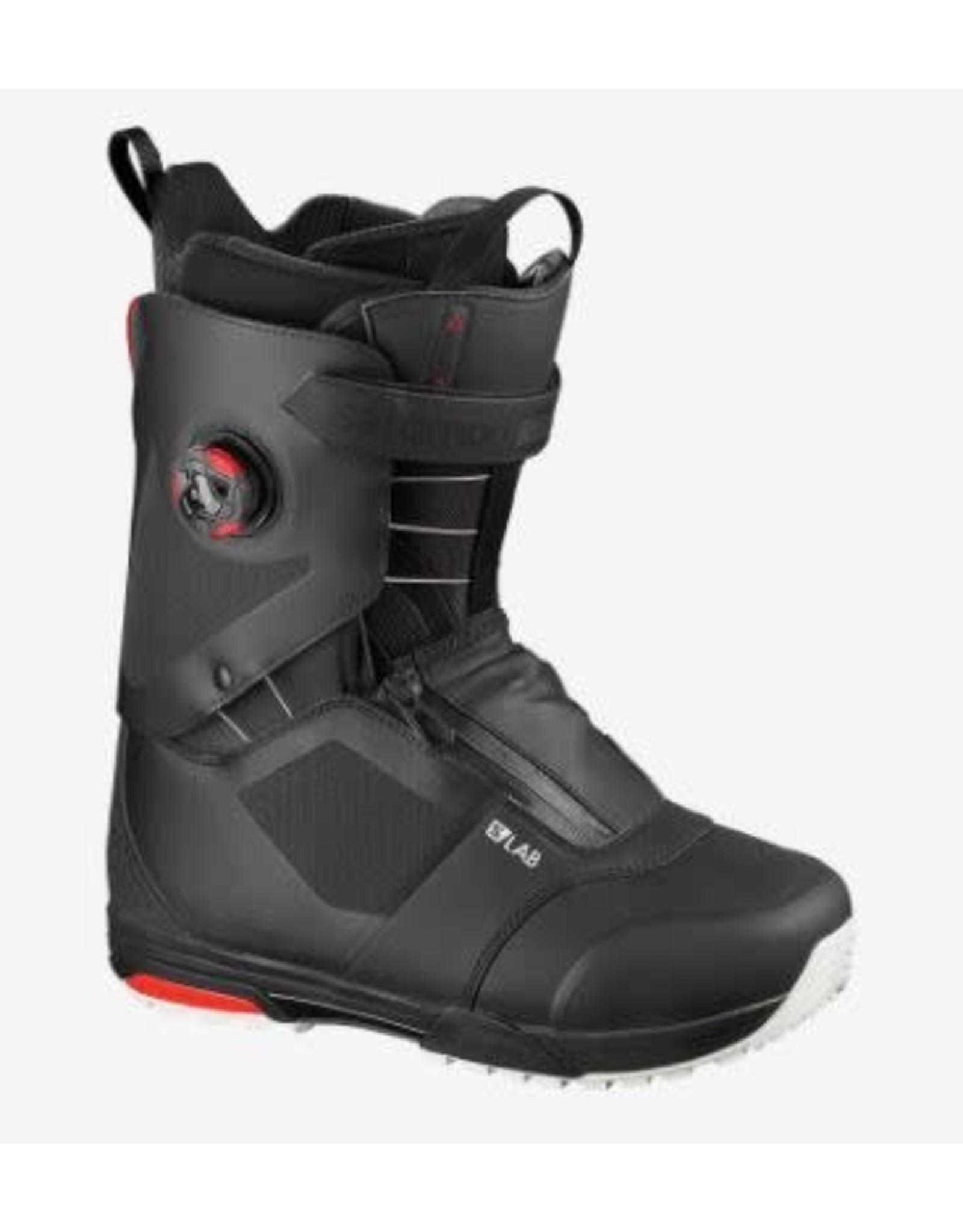 salomon Salomon - Botte splitboard homme trek s/lab black/racing red/black