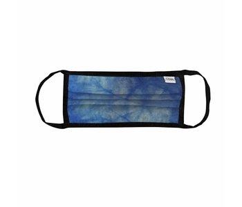 Coal - Masque tie dye blue