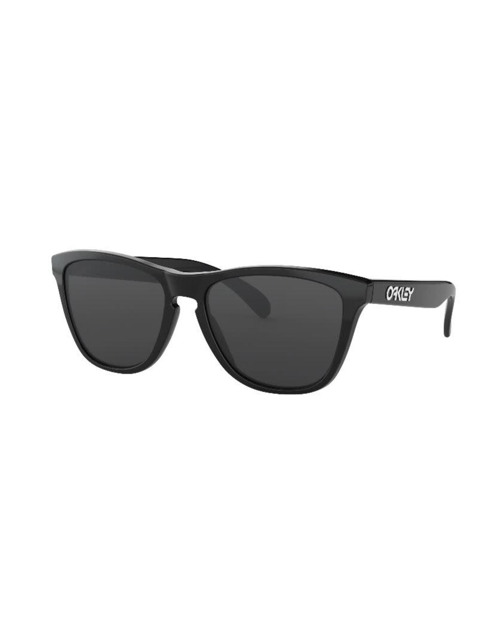 Oakley Oakley - Lunette soleil femme frogskins polished black/lens grey