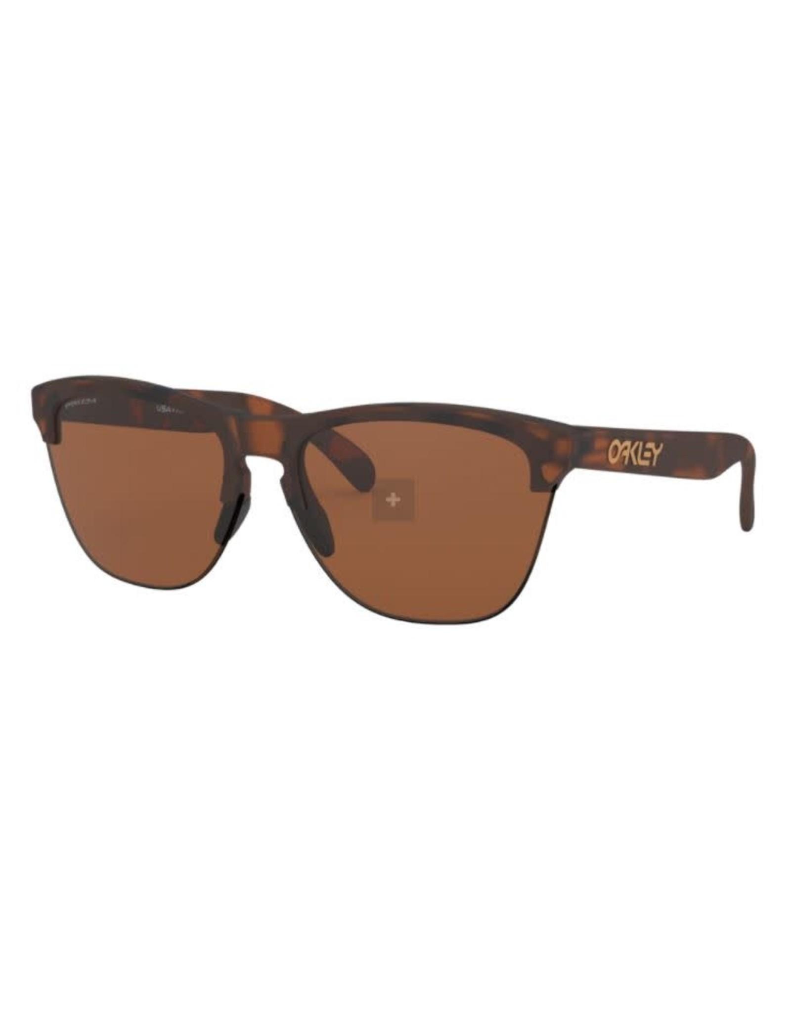 Oakley Oakley - Lunette soleil homme frogskins lite matte brown tortoise/lens prizm tungsten