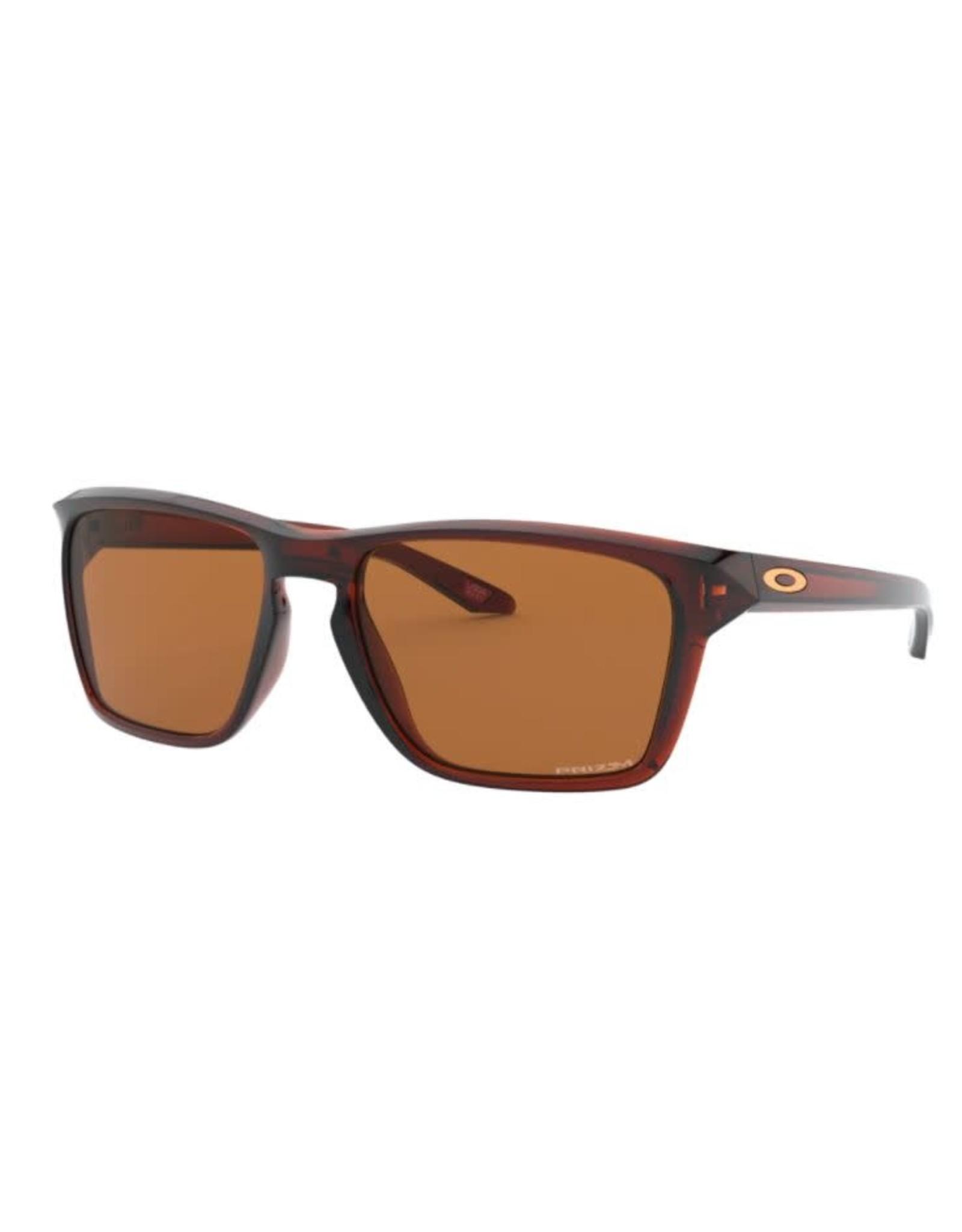 Oakley Oakley - Lunette soleil homme sylas polished rootbeer/lens prizm bronze