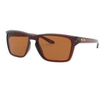 Oakley - Lunette soleil homme sylas polished rootbeer/lens prizm bronze