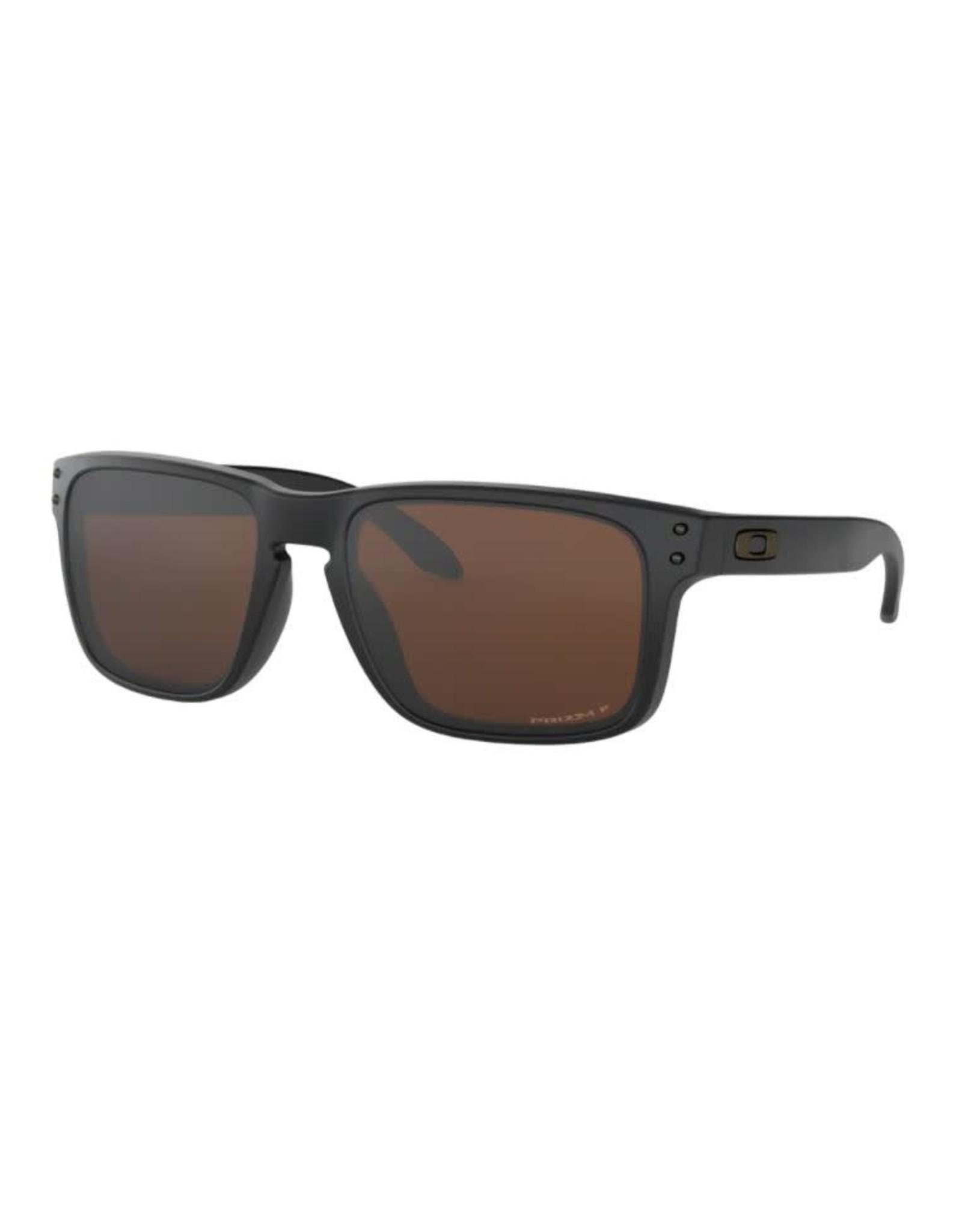 Oakley Oakley - Lunette soleil homme holbrook matte black/lens prizm tungsten polarized