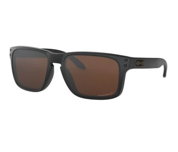 Oakley - Lunette soleil homme holbrook matte black/lens prizm tungsten polarized