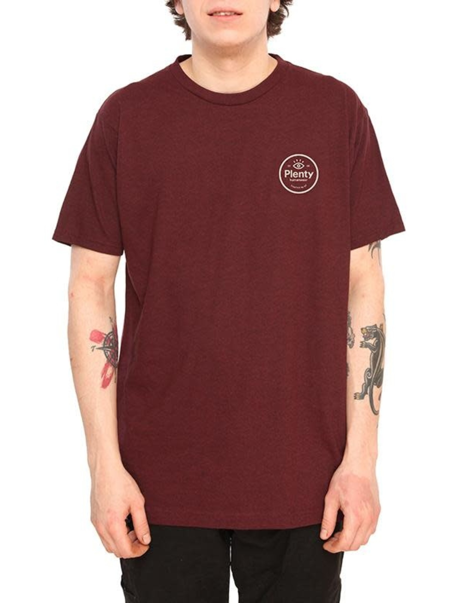 plenty Plenty - T- shirt homme duke crimson heather