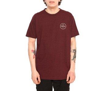 Plenty - T- shirt homme duke crimson heather