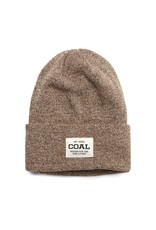 coal Coal - Tuque homme uniform light brown marl