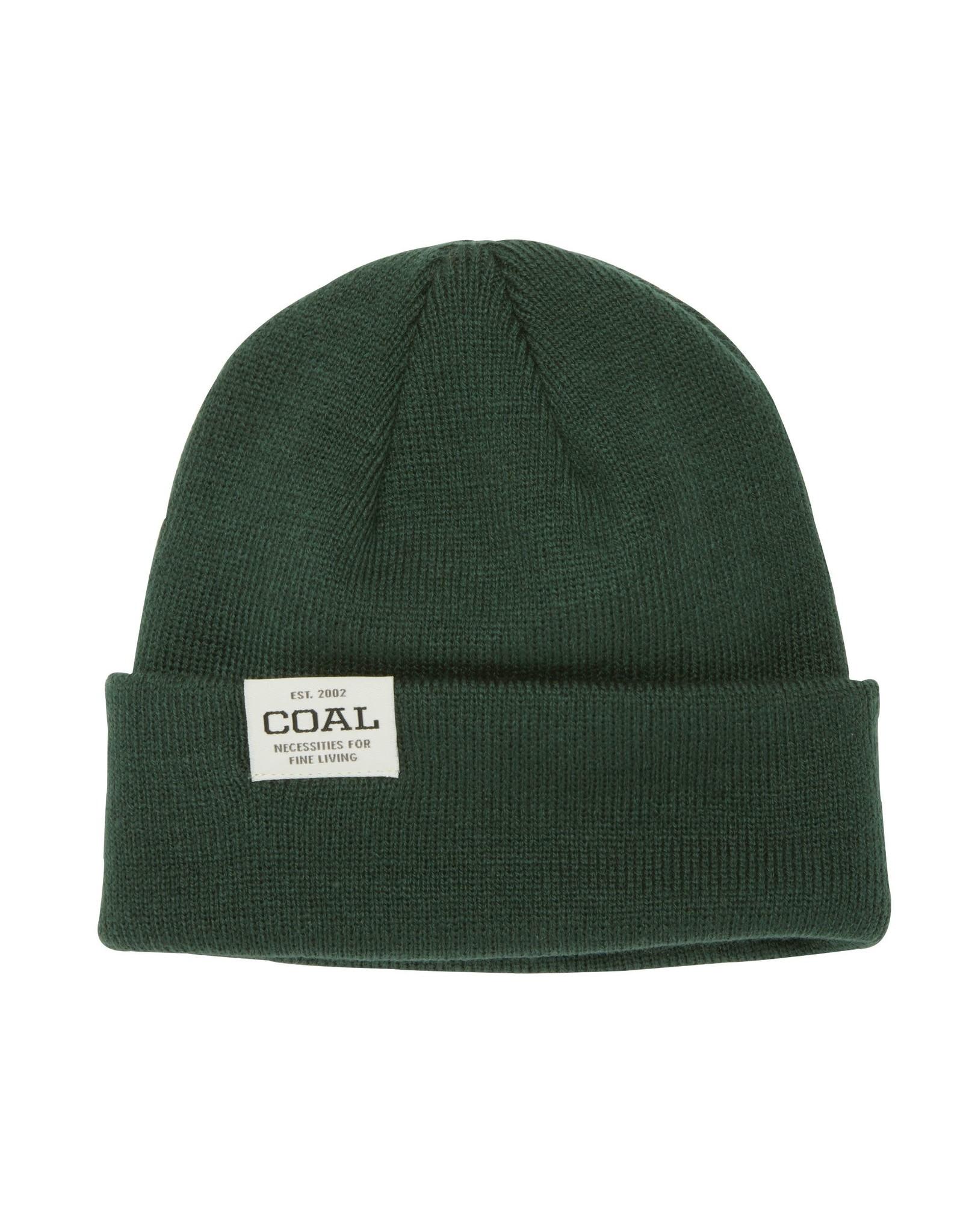 coal Coal - Tuque homme uniform low dark green