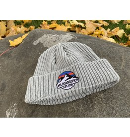 m2 boardshop M2 - Tuque homme fisherman m2 mountain logo grey