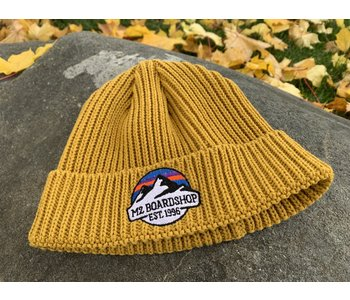 M2 - Tuque homme fisherman m2 mountain logo gold