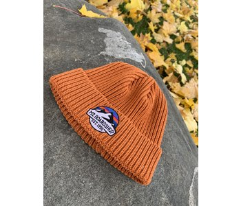 M2 - Tuque homme fisherman m2 mountain logo rust