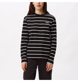 Obey Obey - Chandail long femme james top knit black multi