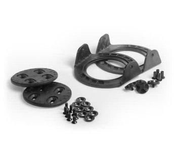 Now - King Pin tool less kit nylon black
