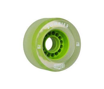 Hawgs - Roues longboard zombies  vert clair 78A