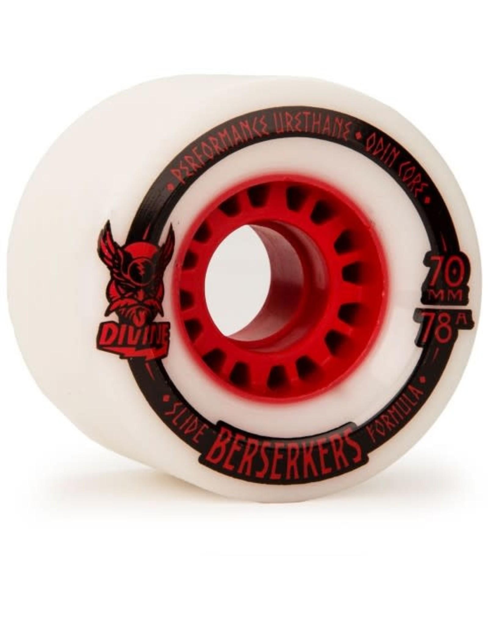 Divine - Roues berserkers rouge 78A