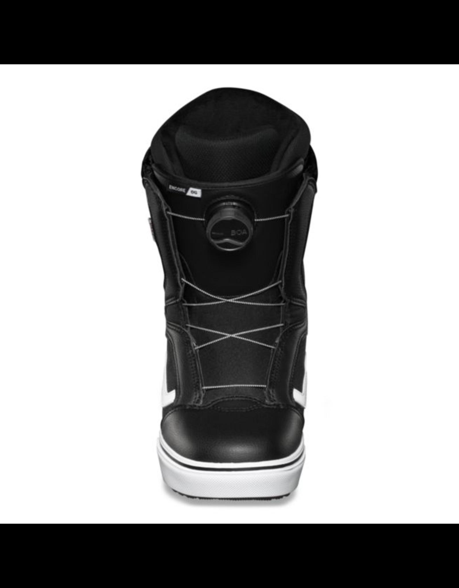 vans Vans - Botte snowboard femme encore og black/white 20