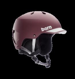 Bern Bern - Casque homme watts matte burgundy