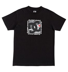 dc Dc - T-shirt homme big dc square black