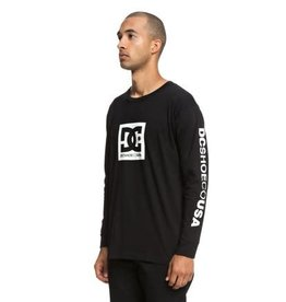 dc Dc - Chandail long homme square star blck