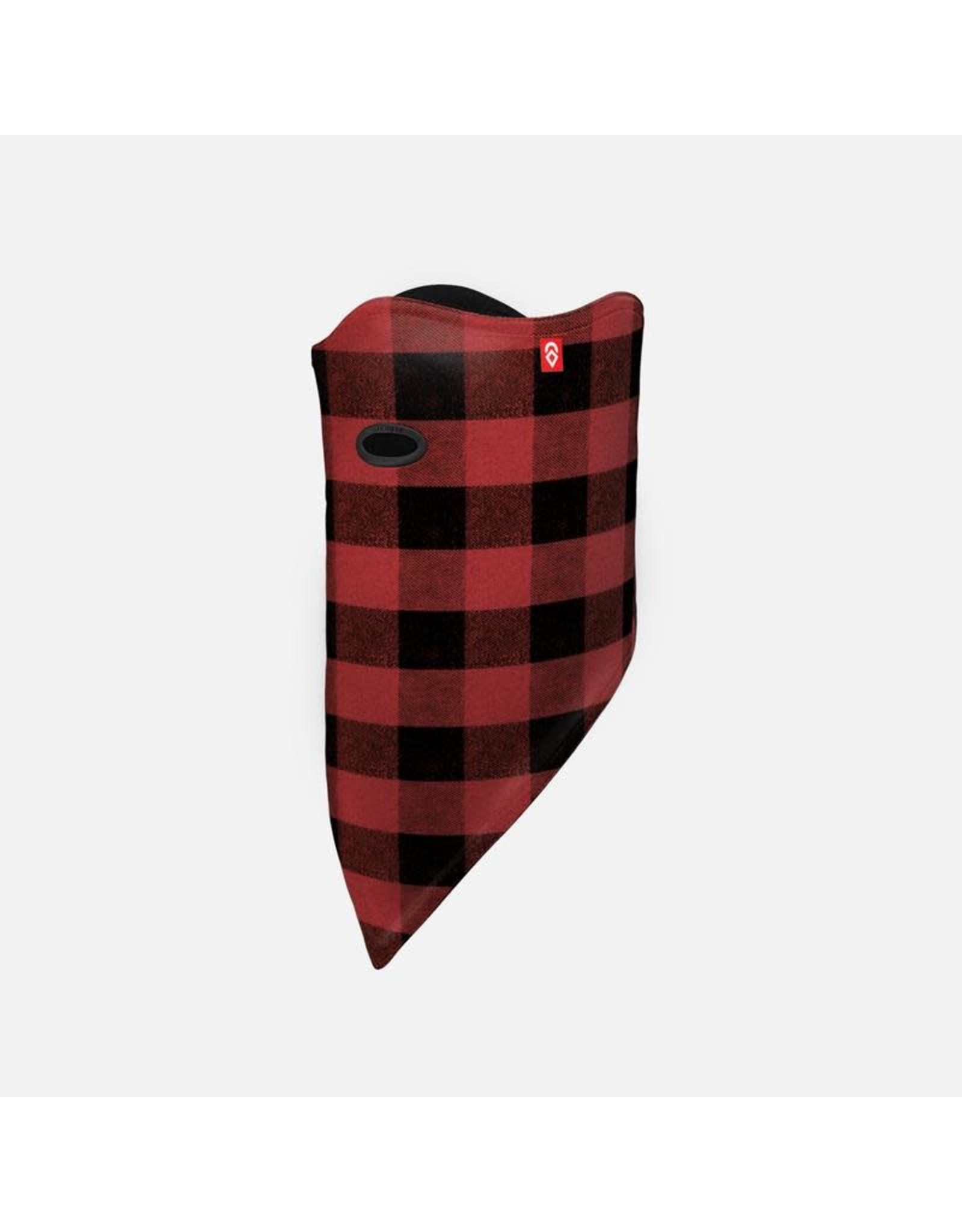 airhole Airhole-  Facemask standard   2 layer 10K softshell red buffalo
