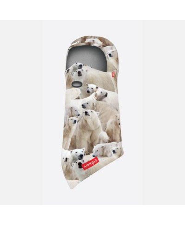 Airhole - Balaclava junior hinge polar bears