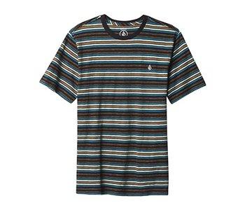 Volcom - T-shirt junior moorley crew black
